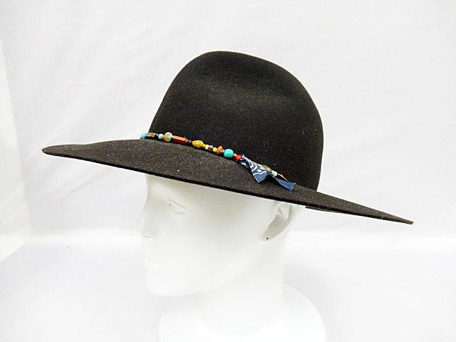 キジマタカユキ KIJIMATAKAYUKI ミキア ウール ハット帽子 メンズ1【ブランド古着ベクトル】【中古】170807 メンズ