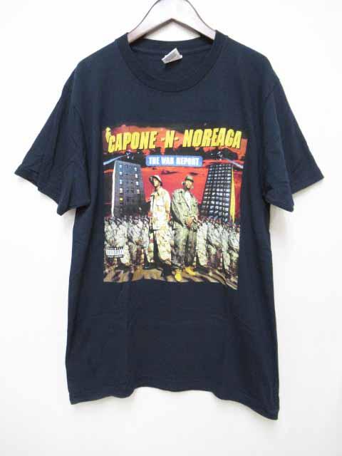 シュプリーム SUPREME 16AW CAPONE-N-NOREAGA The War Report Tee プリント 半袖 Tシャツ M ネイビー【ブランド古着ベクトル】【中古】181102☆AA★050 メンズ