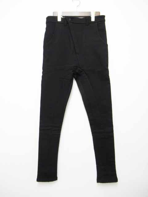【中古】ジョーチア JOE CHIA. F19M_PA19. Slim Straight Cut Pants / Bomber Heat. Black. 2019AW.パンツ S【ブランド古着ベクトル】191106 メンズ 【ベクトル 古着】 191106 プリマベーラ