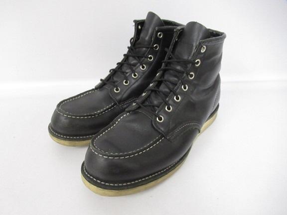 【中古】レッドウィング REDWING 8179 アイリッシュセッター モックトゥ ブラック ブーツ US10 ブラック【ブランド古着ベクトル】200321 メンズ 【ベクトル 古着】 200321 プリマベーラ