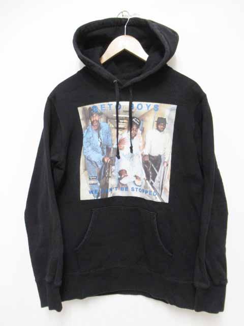 【中古】シュプリーム SUPREME 17SS Rap-A-Lot Records Geto Boys Hooded Sweatshirt ゲトー ボーイズ パーカー 黒 Black M【ブランド古着ベクトル】200326☆AA★ メンズ 【ベクトル 古着】 200326 プリマベーラ