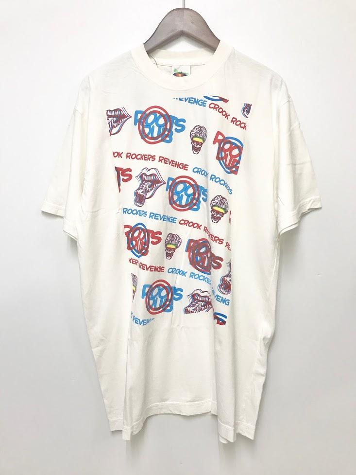 【中古】アンダーカバー UNDERCOVER 初期 02SS ROOK ROCKERS REVENGE 3Dロゴ プリント Tシャツ 半袖 白 M【ブランド古着ベクトル】200402★ メンズ 【ベクトル 古着】 200402 プリマベーラ