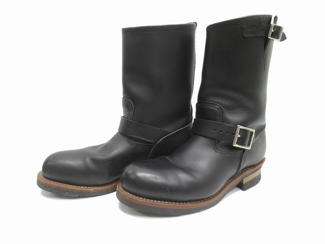【中古】レッドウィング REDWING 2268 エンジニア ブーツ 黒28.5cm メンズ 【ベクトル 古着】 190322 プリマベーラ