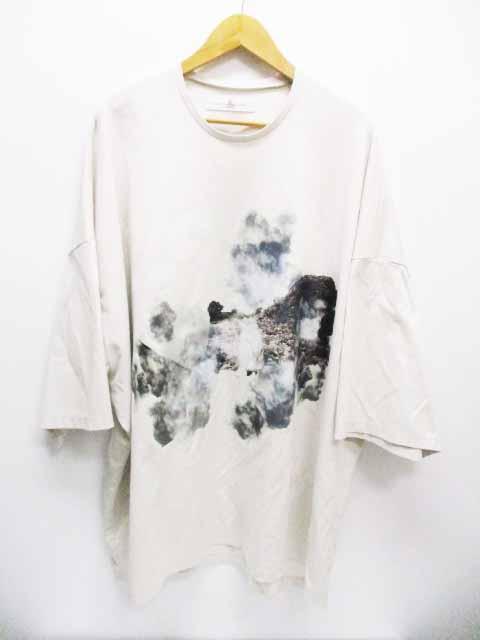 【中古】 BALMUNG バルムング 19SS プリント ビッグ Tシャツ 夢島 グレー ブランド古着ベクトル 中古190622 0070 メンズ