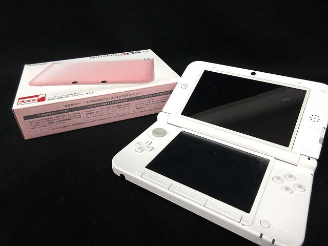N3DSLL ニンテンドー 3DS LL SPR-001 ピンク × ホワイト 本体 【中古】【ベクトル 古着】 180208 ブランド古着ベクトルプレミアム店