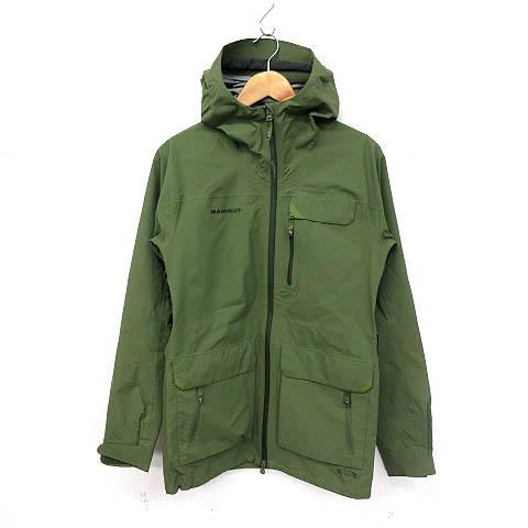 マムート MAMMUT Trovat Guide HS Hooded Jacket ジャケット M 緑 カーキ 1010-19950 ※SK 180627 メンズ 【中古】【ベクトル 古着】 180627 ブランド古着ベクトルプレミアム店