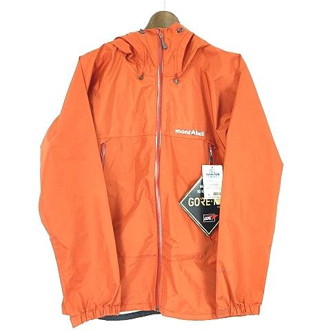 モンベル Montbell 1128340 Rain Dancer Jacket GORE-TEX ゴアテックス レインダンサー ジャケット アウトドア ナイロン オレンジ M アウター O-180504 メンズ 【中古】【ベクトル 古着】 180504 ブランド古着ベクトルプレミアム店