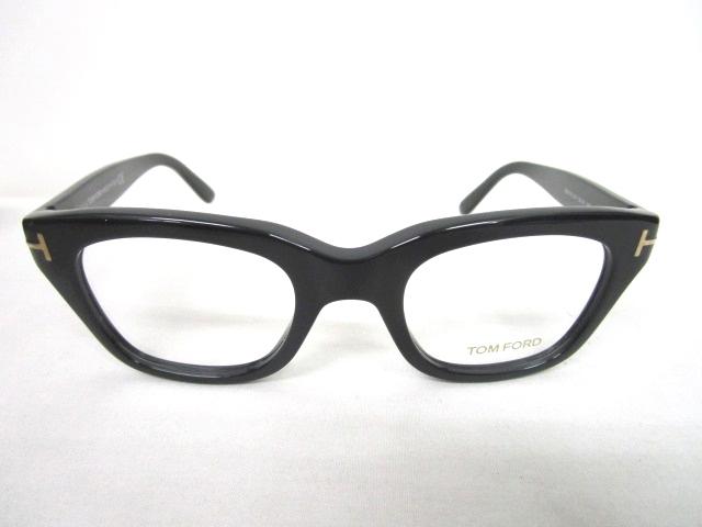 トムフォード TOM FORD 眼鏡 伊達メガネ セルフレーム 度なし 黒 ブラック 50□21 TF5178 アイウェア ☆AA★ 0425 メンズ 【中古】【ベクトル 古着】 180425 ブランド古着ベクトルプレミアム店