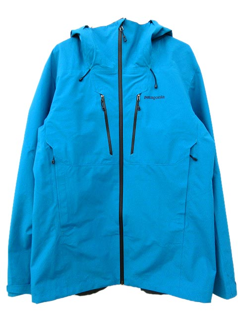 パタゴニア Patagonia 83401 triolet jacket トリオレット ジャケット マウンテンパーカー ゴアテックス 登山 アウトドア ウェア 青 ライトブルー XL Y7779 メンズ 【中古】【ベクトル 古着】 181105 ブランド古着ベクトルプレミアム店