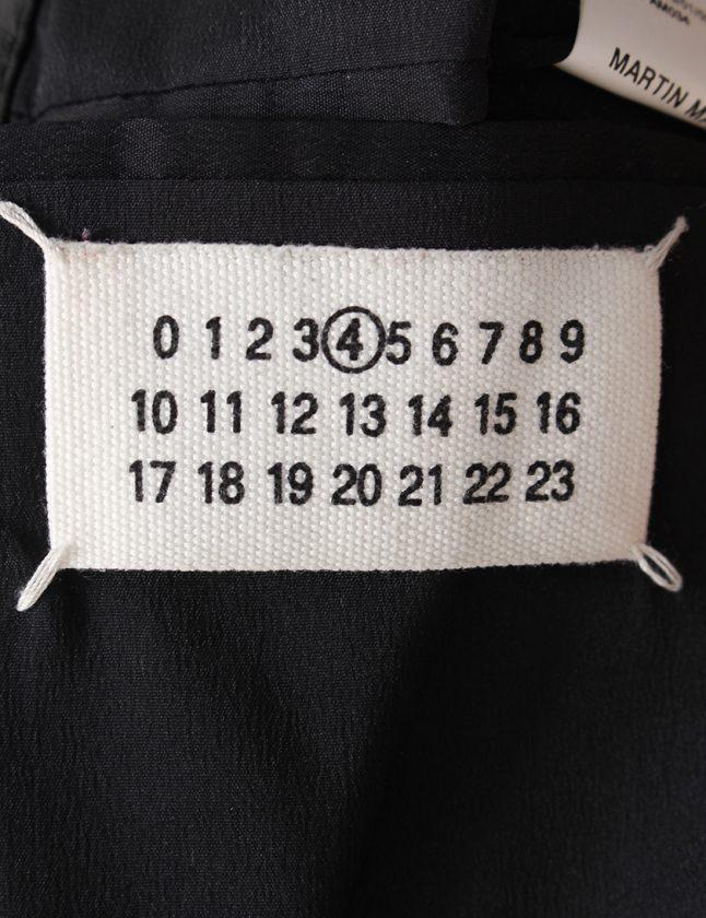 メゾンマルジェラMaisonMargiela5ZIPライダースジャケット黒42アウター無地Mレザーハの字レディース【】【ベクトル古着】ブランド古着ベクトルプレミアム店