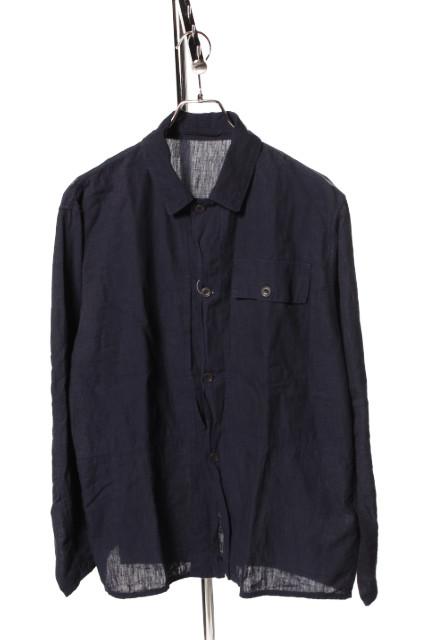 【中古】 コモリ COMOLI 18SS ジャケット ミリタリー コットン 1 紺 ネイビー /an0515 メンズ 【ベクトル 古着】 190516