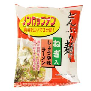 無添加 どんぶり麺 ノンカップメン 醤油ラーメン 1食分 ×24袋 国産小麦粉使用