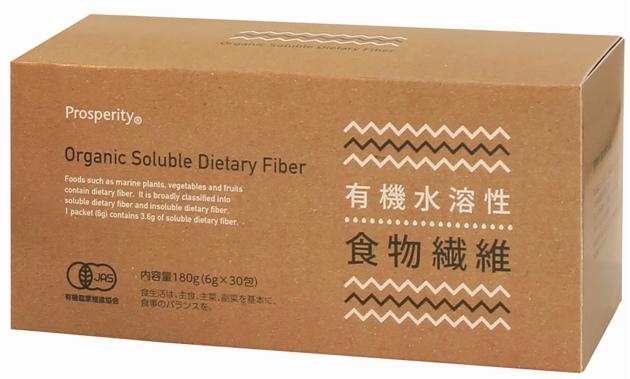 オーサワ 無添加 自然食品 厳選素材 送料込 プロスペリティ有機水溶性食物繊維 180g(6g×30) 2パック