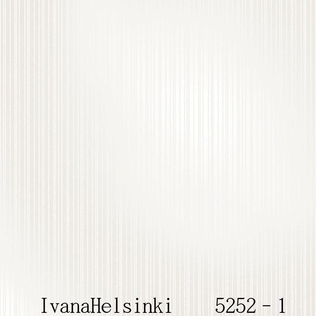 IvanaHelsinki イヴァナヘルシンキフィンランド製 壁紙5252-1【 53cm幅×10m巻 】裏面:フリース素材ストライプ 北欧 自然 ホワイト輸入壁紙IvanaHelsinki Wallpaper★P10倍★