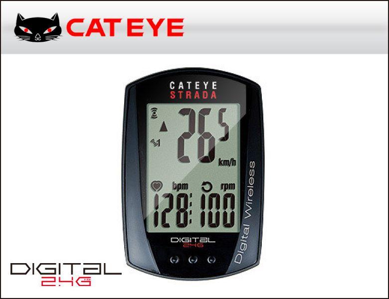(送料無料)(CATEYE)キャットアイ サイクルコンピュータ CC-RD430DW ストラーダデジタルワイヤレス(4990173024643)