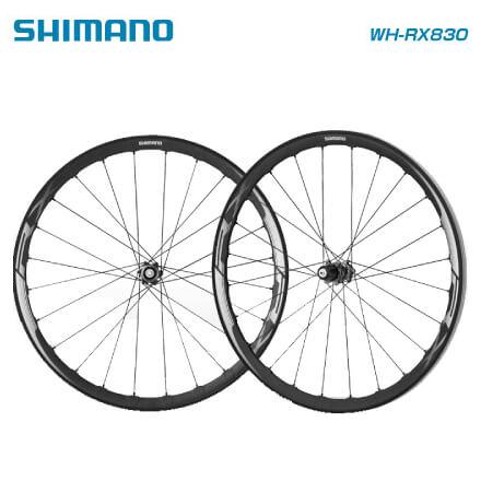 (送料無料)SHIMANO シマノ DISC WHEEL ロード用ディスクホイール WH-RX830 ロードチューブレスクリンチャー 10-11S対応 (4524667639664)