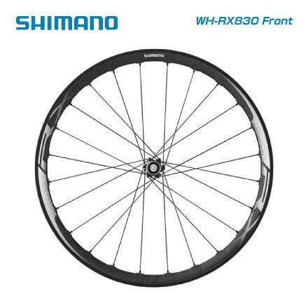 (送料無料)SHIMANO シマノ DISC WHEEL ロード用ディスクホイール WH-RX830 ロードチューブレスクリンチャー (フロントのみ)(4524667639671)