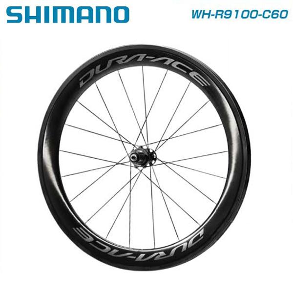(送料無料)(SHIMANO)シマノ WHEEL チューブラーホイール WH-R9100-C60-TU チューブラー リアのみ ホイールバック付属(IWHR9100C60FTB)(4524667691884)