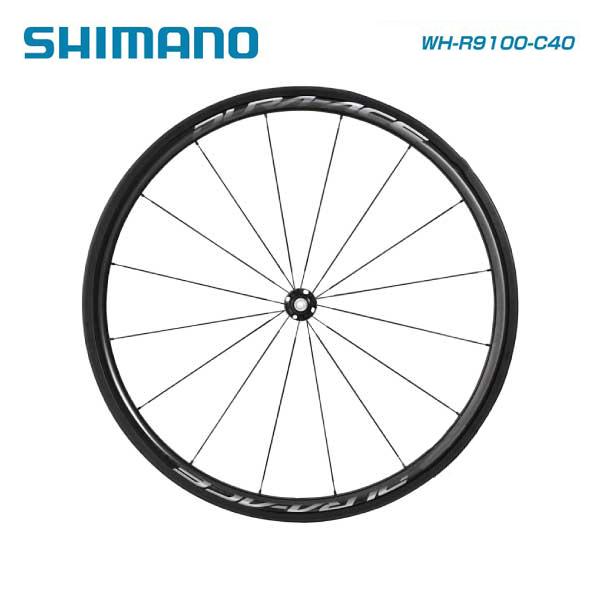 SHIMANO シマノ WHEEL チューブラーホイール WH-R9100-C40-TU フロントのみ ホイールバック付属(EWHR9100C40FTB)(4524667690191)