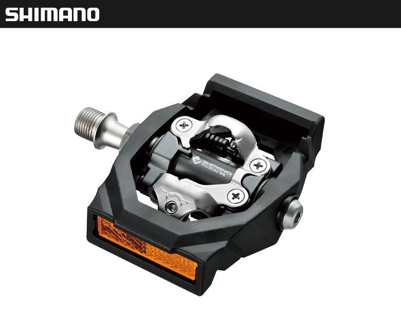 (SHIMANO)シマノ PEDAL ペダル SPDペダル PD-T700 W/REFクリッカー(CLICK'R)(左右ペア) (EPDT700)(4524667561033)
