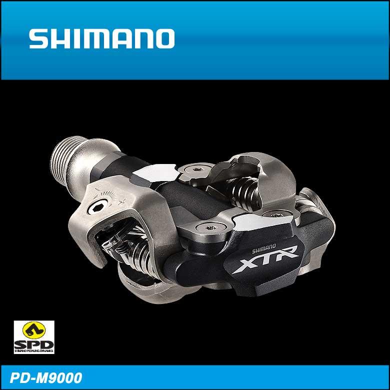 (送料無料)(SHIMANO)シマノ SPD PEDAL SPDペダル PD-M9000 左右ペア(レース)(IPDM9000)(4524667595588)(20018062)