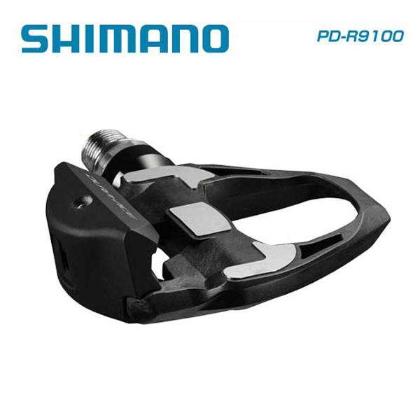 (送料無料)SHIMANO シマノ SPD SL PEDAL ペダル PD-R9100-L (プラス4mm軸仕様)(左右ペア)(SM-SH12付属)(IPDR9100E1)(4524667741541)