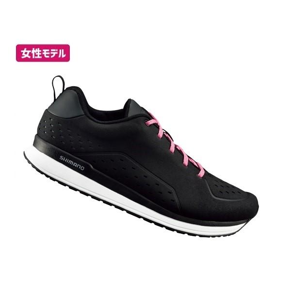 (送料無料)SHIMANO シマノ ロードシューズ(SPD対応) CT5 SH-CT500 WOMEN ブラック