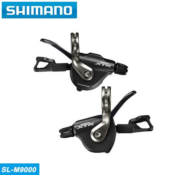 (送料無料)SHIMANO シマノ MTB M9000(11S) シフトレバー(ラピッドファイヤープラス) SL-M9000 左右レバーセット 2/3X11S(ISLM9000PA)(4524667673477)