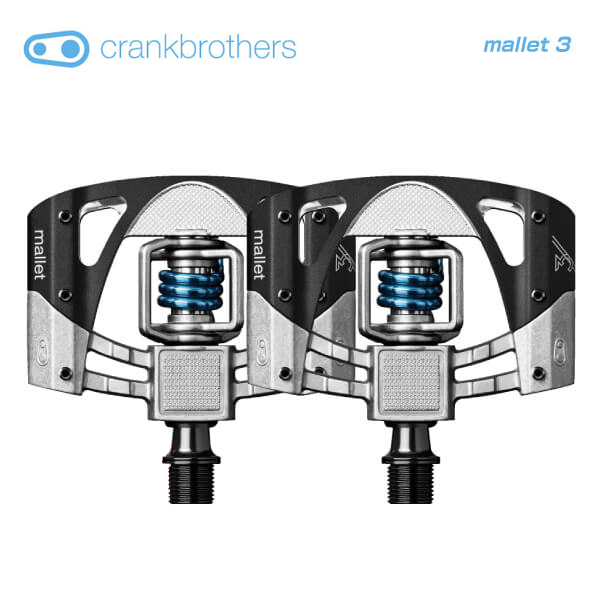 品質のいい (送料無料)(crankbrothers)クランクブラザーズ PEDAL ペダル PEDAL mallet ペダル 3 マレット3v2 マレット3v2 ロウブラックライトブルー(左右ペア), セレクトショップ ムー:3fcdd6c5 --- business.personalco5.dominiotemporario.com