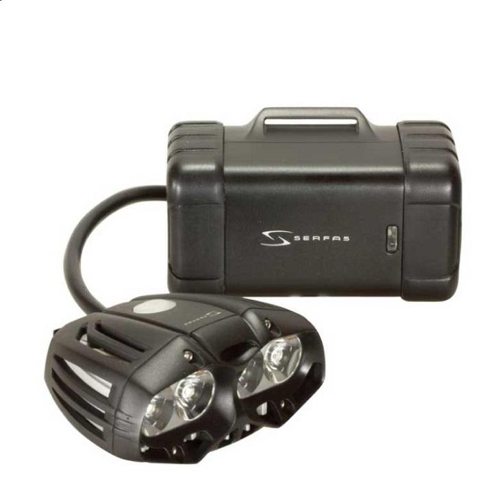 (送料無料)(SERFAS) サーファス フロント LIGHT ライト TSL-2500 ブラック(028975)