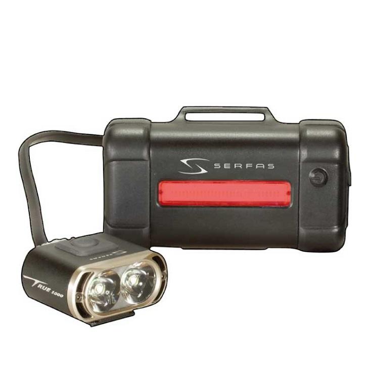 (送料無料)(SERFAS) サーファス フロント LIGHT ライト TSL-1000 ブラック(028974)