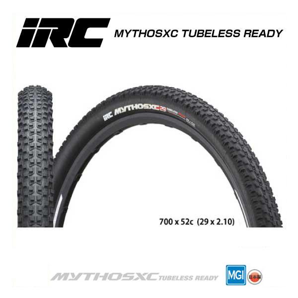 (IRC)アイアールシー TIRE タイヤ MYTHOSXC TUBELESS READY ミトスXCチューブレスレディ 29 x 2.10(1本)(4571244744570)