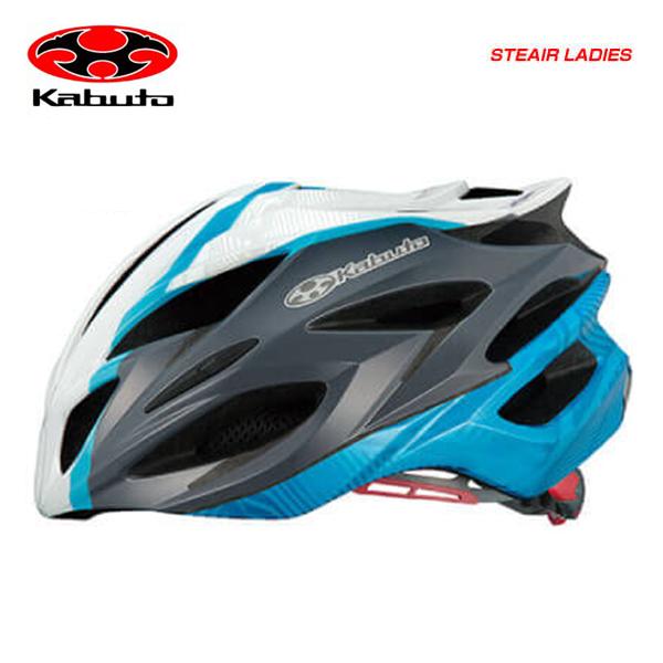(送料無料)(OGK KABUTO) オージーケーカブト HELMET ヘルメット STEAIR LADIES ステアーレディース パールホワイトブルー(JCF公認)