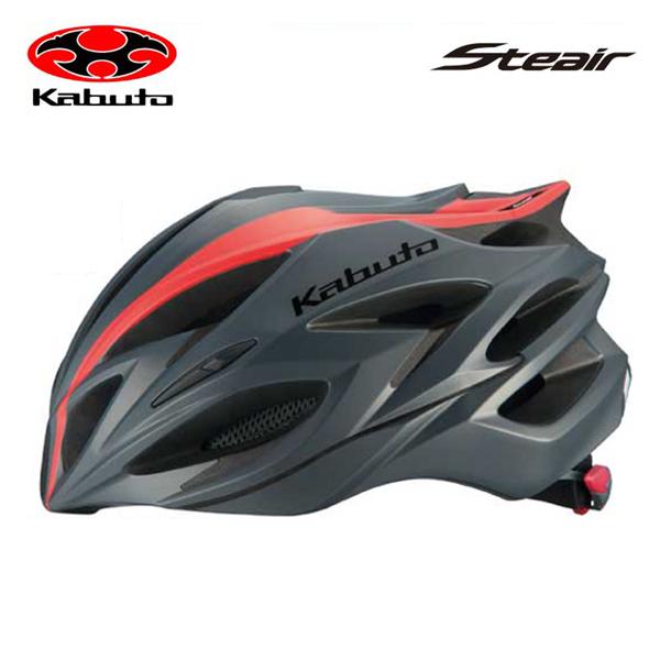 送料無料 OGK KABUTO オージーケーカブト HELMET ヘルメット STEAIR ステアー ラインマットレッド
