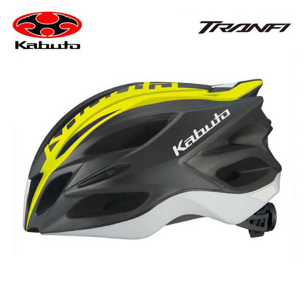 OGK KABUTO オージーケーカブト HELMET ヘルメット TRANFI トランフィ (JCF公認) マットアイコンイエロー