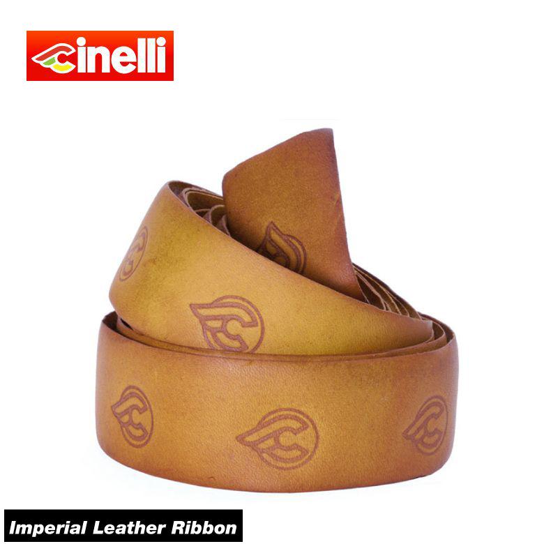 (送料無料)(cinelli) チネリ BAR TAPE バーテープ Imperial Leather Ribbon インペリアルレザーリボン ナチュラル 607026-000002