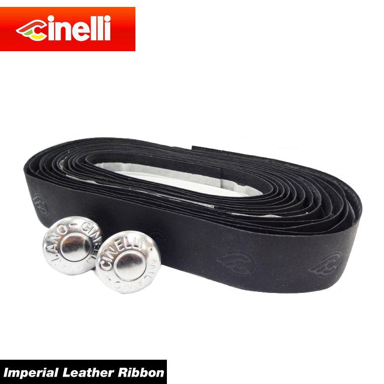 (送料無料)(cinelli) チネリ BAR TAPE バーテープ Imperial Leather Ribbon インペリアルレザーリボン ブラック 607026-000001