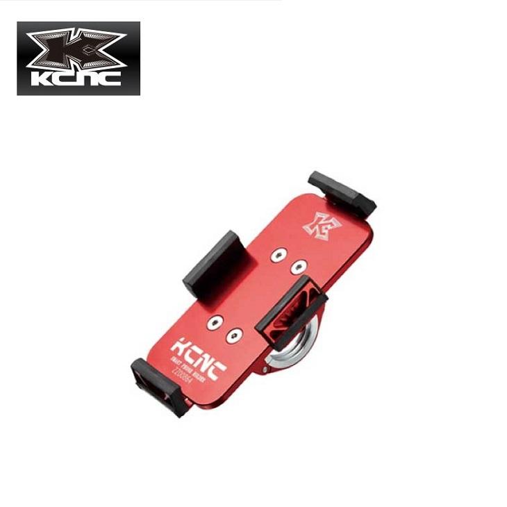 (送料無料)(KCNC) ケーシーエヌシー SMARTPHONE HOLDER スマートフォンホルダー アルミレッド(003472)
