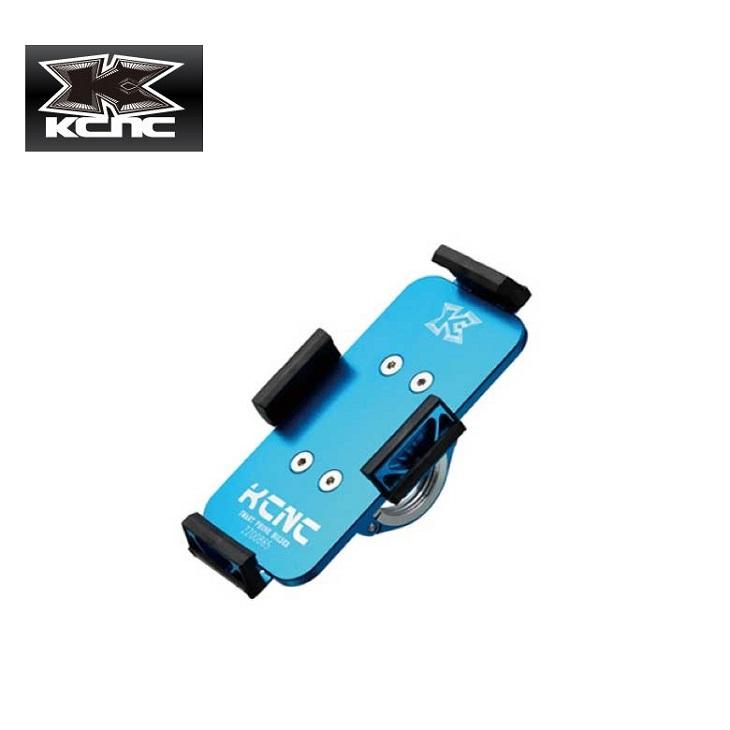 (送料無料)(KCNC) ケーシーエヌシー SMARTPHONE HOLDER スマートフォンホルダー アルミブルー(003474)(20014754)