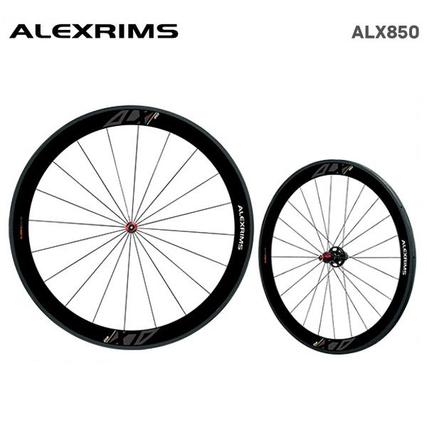 (送料無料)ALEXRIMS アレックスリム ROAD カーボンチューブラーホイール ALX850 (シマノ・スラム 8-9-10-11S) 前後セット(820501)
