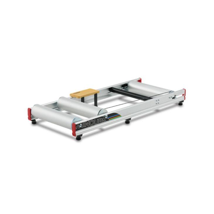 (送料無料)(MINOURA)ミノウラ TRAINER トレーナー 3本ローラー LiveRoll R800 ライブロールR800 シルバーアルマイト(4944924406523)