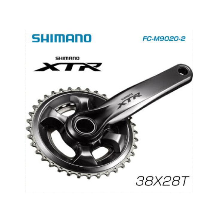 (送料無料)(SHIMANO)シマノ MTB M9000(11S) クランク FC-M9020 28X38T