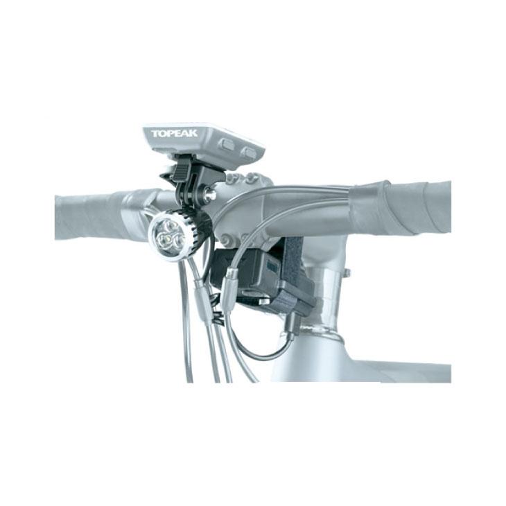 TOPEAK トピーク WhiteLite HP Mega 420 (With 3000mAh PowerPack) ホワイトライト HP メガ 420 (3000mAh パワーパック付) (LPF16500)(4712511838190)ライト