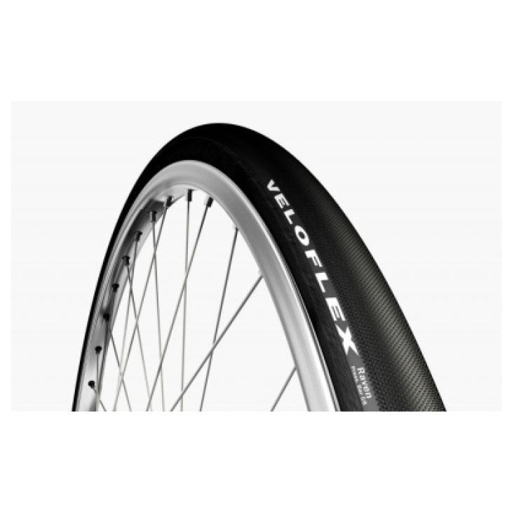 VELOFLEX ベロフレックス RAVEN レイヴン 700×28C 黒×黒(サイド) チューブラータイヤ