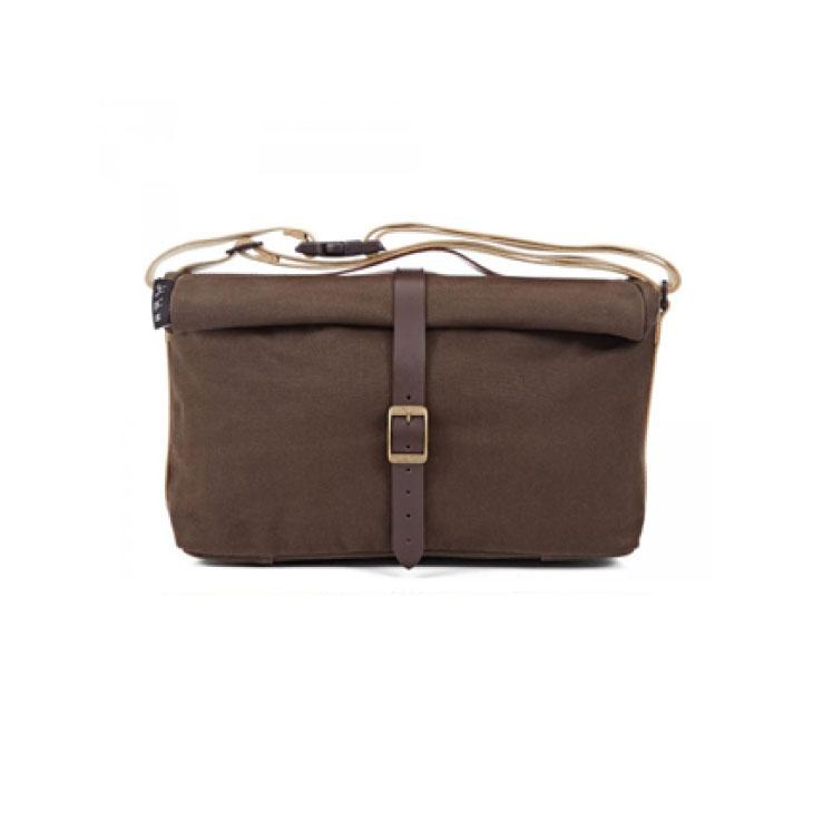 (送料無料)(BROMPTON)ブロンプトン BAG バッグ ROLL TOP BAG ロールトップバッグ ワックスドキャンバス(5053099001910)