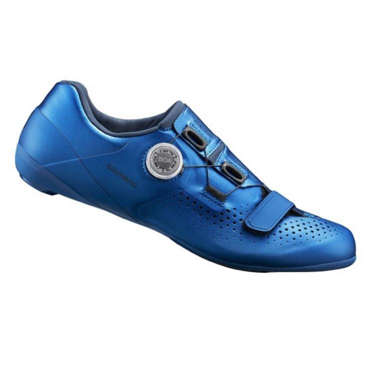 (即納:43(27.2cm)限定品)SHIMANO シマノ RC5(SH-RC500) SPD-SL ブルー ロード(4550170488635)シューズ