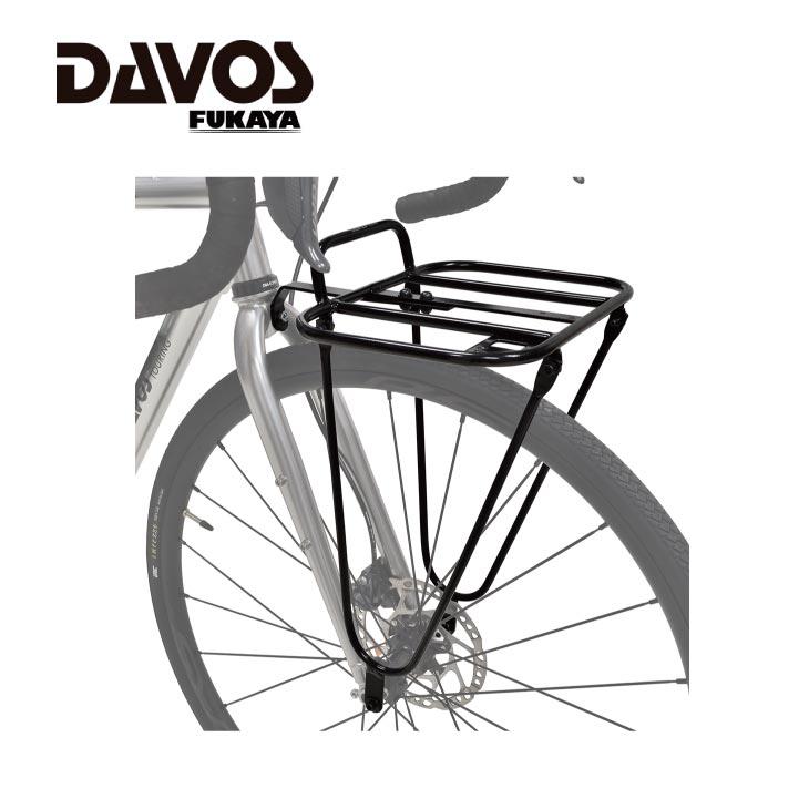 DAVOS FR-1 FRONT ブランド買うならブランドオフ RACK 4944924010768 フロントキャリア フロントラック 物品 ダボス