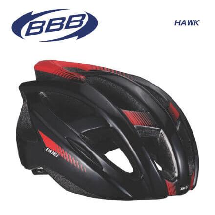 (BBB)HELMET ヘルメット HAWK BHE-27 ホーク ブラックレッド M(154875)L(154876)