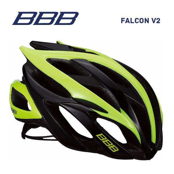 (送料無料)BBB ヘルメット BHE-01 FALCON V2 ファルコンV2 ブラック/ネオンイエロー