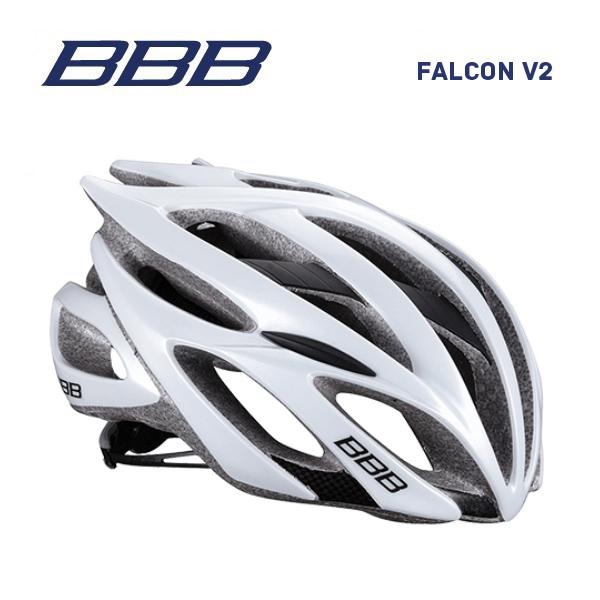 (送料無料)BBB ヘルメット BHE-01 FALCON V2 ファルコンV2 ホワイト
